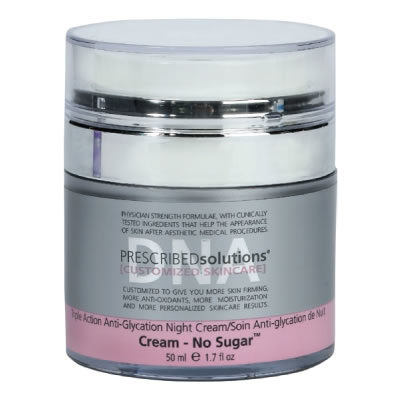 PRESCRIBEDsolutions DNA | Cream No Sugar Night Cream
