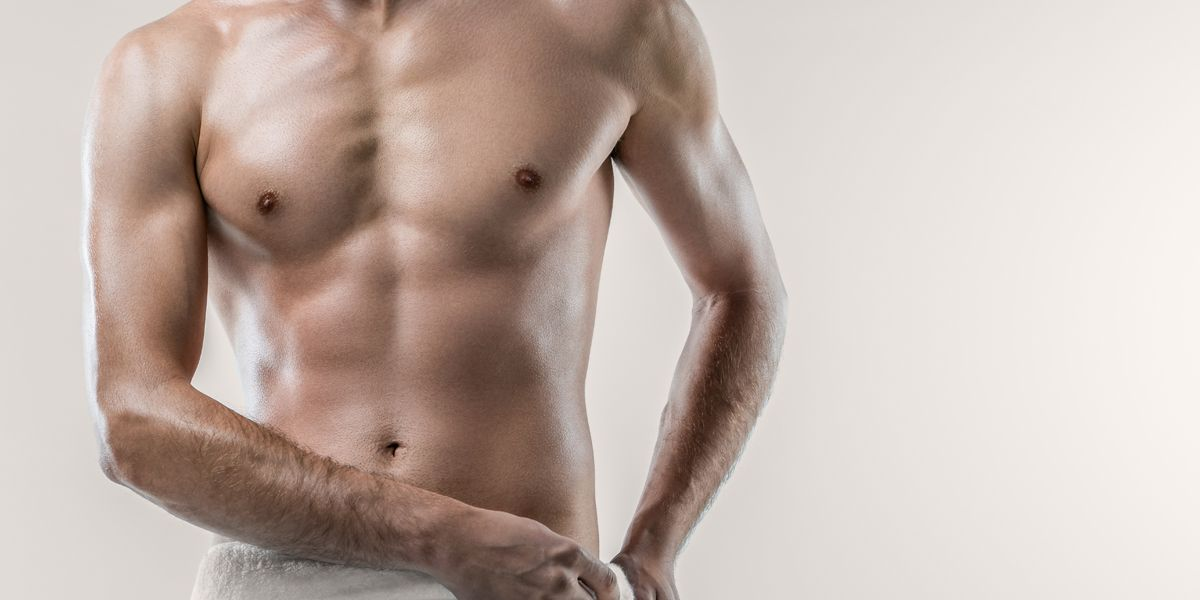 Male Liposuction on torso and stomach