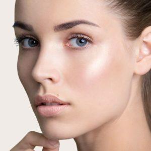 Nonsurgical cheekbone and brow lift